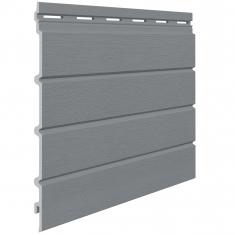 Вспененный сайдинг VOX Kerrafront Modern Wood Четверная (Quartz grey), 2.95м