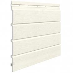 Вспененный сайдинг VOX Kerrafront Modern Wood Четверная (White), 2.95м