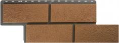 Фасадные панели Альта-Профиль камень Неаполитанский (Персиковый)