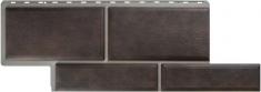 Фасадная панель Альта-Профиль Камень Флорентийский (Коричневый)