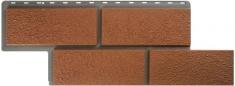 Фасадные панели Альта-Профиль камень Неаполитанский (Терракотовый)