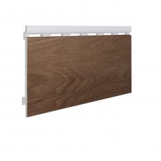 Вспененный сайдинг VOX Kerrafront Wood Effect Одинарный (Caramel Oak), 2.95м