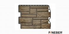 Фасадная панель Fineber Дачный Бут (Песочный), 0,79м