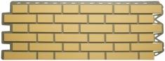 Фасадная панель Альта-Профиль Кирпич Клинкерный (Жёлтый)