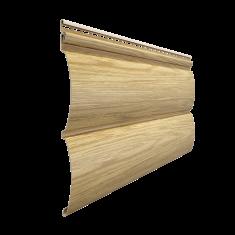 Виниловый сайдинг Docke Lux Под  дерево Блок-Хаус D4.7T (Зрелый каштан) 3,6м