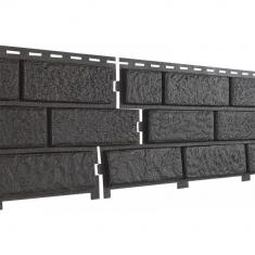 Фасадная панель Ю-Пласт Стоун Хаус Кирпич (Коричневый)