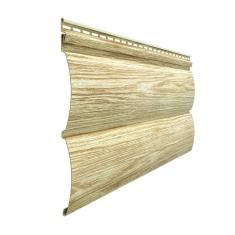 Виниловый сайдинг Docke Lux Под  дерево Блок-Хаус D4.7T (Рябина) 3,6м