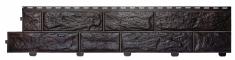 Формованый сайдинг Альта-Профиль Альта-Форм Вулканический камень (Обсидан), 3,00м