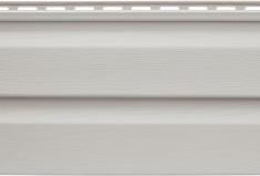 Виниловый сайдинг Альта-Профиль Альта-Классика (Светло-серый), 3,66м