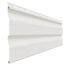 Виниловый сайдинг Доломит Классический (Белый), 3,66м
