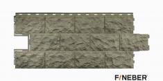 Фасадная панель Fineber Дачный Доломит (Бежевый), 1.14м