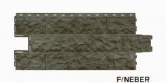 Фасадная панель Fineber Дачный Доломит (Дымчатый), 1.14м