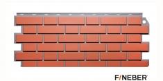 Фасадная панель Fineber Дачный Кирпич клинкерный (Керамический), 1.13м