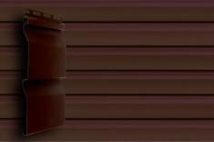 Акриловый сайдинг Grand Line Акрил. Премиум-коллекция Корабельный брус (Темный дуб), 3,6м