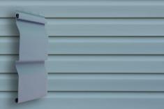 Виниловый сайдинг Grand Line Классика Корабельный брус (Голубой), 3,6м