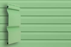 Виниловый сайдинг Grand Line Классика Корабельный брус слим (Салатовый), 3,0м