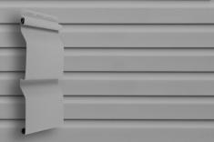 Виниловый сайдинг Grand Line Классика Корабельный брус слим (Серый), 3,0м