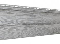 Виниловый сайдинг Ю-Пласт Тимберблок Дуб (Серебристый), 3,4м