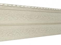 Виниловый сайдинг Ю-Пласт Тимберблок Ясень (Золотистый),3,4м
