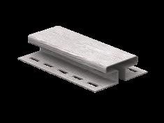 H-планка Ю-Пласт Timberblock Дуб (Серебристый), 3м