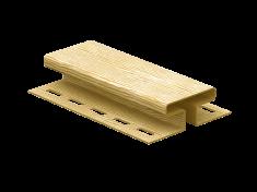 H-планка Ю-Пласт Timberblock Дуб (Золотистый), 3м