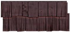 Фасадная панель Т-Сайдинг Щепа Дуб (Памир)