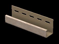 J-планка Ю-Пласт Timberblock Дуб (Натуральный), 3м