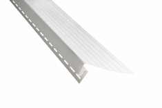 Планка J-фаска Альта-Профиль белая, 3м