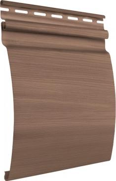 Акриловый сайдинг Tecos Natural wood effect Блок-Хаус Одинарный (Канадский дуб), 3,66м