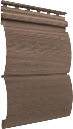 Акриловый сайдинг Tecos Natural wood effect Блок-Хаус Двойной (Канадский дуб), 3,66м