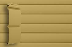 Виниловый сайдинг Grand Line Классика Блок-хаус (Карамельный), 3,0м