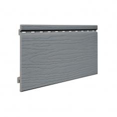 Вспененный сайдинг VOX Kerrafront Classic Одинарный (Quartz grey), 2.95м