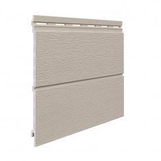 Вспененный сайдинг VOX Kerrafront Modern Wood Двойная (Claystone), 2.95м