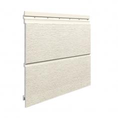 Вспененный сайдинг VOX Kerrafront Modern Wood Двойная (Ivory), 2.95м