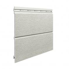 Вспененный сайдинг VOX Kerrafront Modern Wood Двойная (Pearl grey), 2.95м