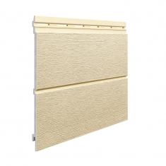 Вспененный сайдинг VOX Kerrafront Modern Wood Двойная (Beige), 2.95м