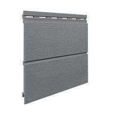 Вспененный сайдинг VOX Kerrafront Modern Wood Двойная (Quartz grey), 2.95м