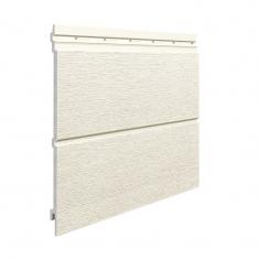 Вспененный сайдинг VOX Kerrafront Modern Wood Двойная (White), 2.95м