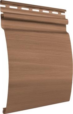 Акриловый сайдинг Tecos Natural wood effect Блок-Хаус Одинарный (Ливанский кедр), 3,66м