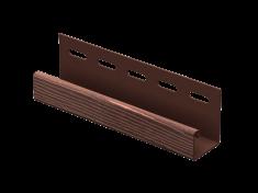 J-планка Ю-Пласт Timberblock Дуб (Мореный), 3м
