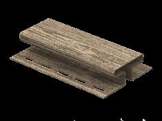 H-планка Ю-Пласт Timberblock Ель (Альпийская), 3м
