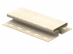 H-планка Ю-Пласт Timberblock Ясень (Золотистый), 3м