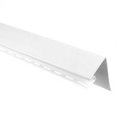 Планка околооконная Альта-Профиль белая, 3м