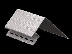 Околооконная планка Ю-Пласт Тимберблок Дуб (Серебристый), 3м