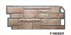 Фасадная панель Fineber Standart Камень (Терракотовыйый), 1,13 м