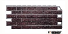 Фасадная панель Fineber Standart Кирпич (Жженый), 1,13 м
