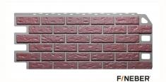 Фасадная панель Fineber Standart Кирпич (Красный), 1,13 м