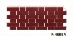 Фасадная панель Fineber Standart Кирпич облицовочный (Красный), 1,13 м