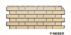 Фасадная панель Fineber Standart Кирпич облицовочный (Желтый), 1,13 м