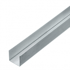 Профиль оцинкованный 27x28мм, 3м (толщина 0,5мм)